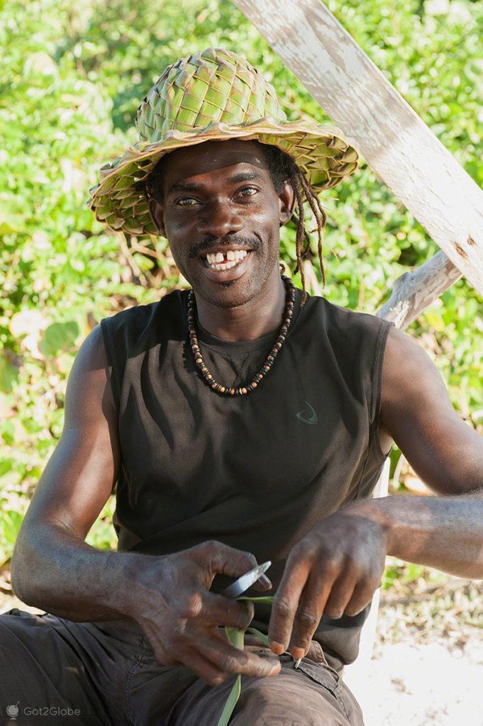 """Eddie Murphy"" de Guadalupe, Caribe, Efeito Borboleta, Antilhas Francesas"
