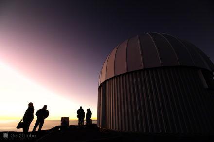 Em espera, Mauna Kea vulcão no espaço, Big Island, Havai