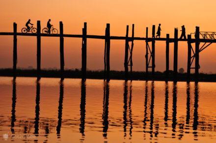Ponte u bein, Amarapura, Myanmar