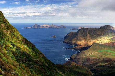 Vista Miradouro, Alexander Selkirk, na Pele Robinson Crusoe, Chile