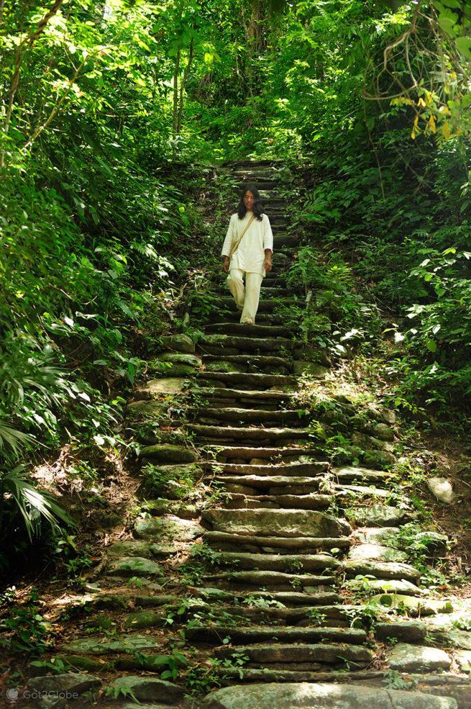 Serra abaixo, PN Tayrona, Guardiães do Mundo, Colômbia