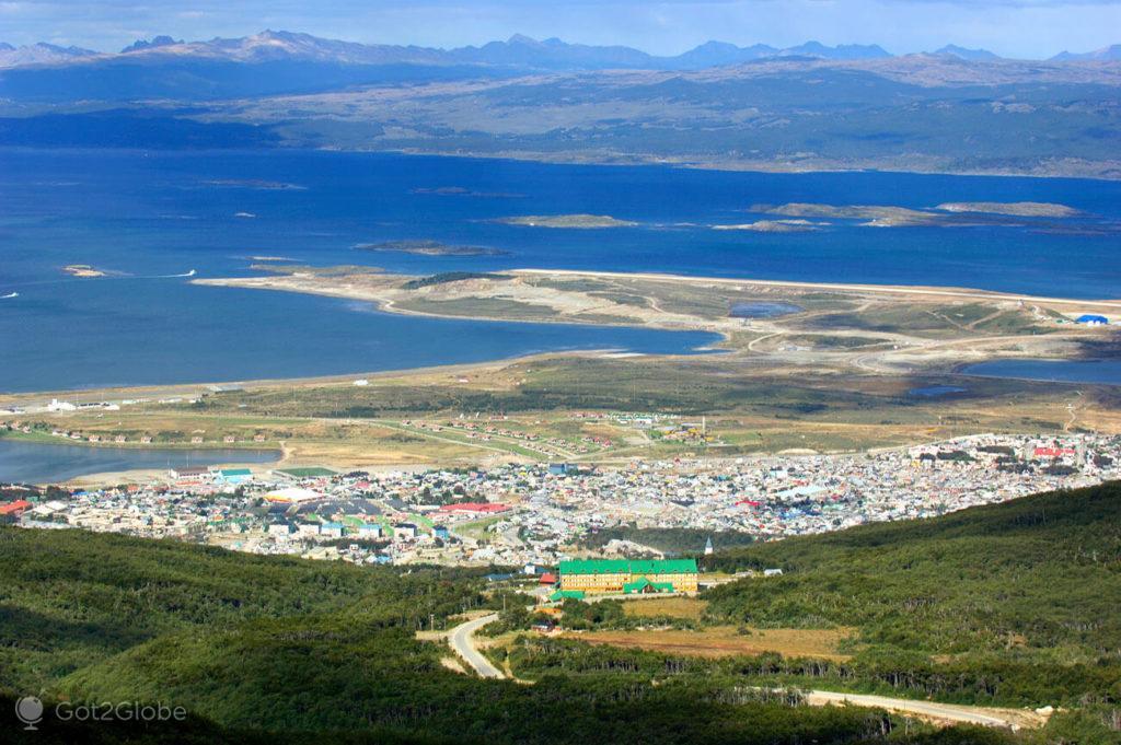 Ushuaia, ultima das cidades, Terra do Fogo, Argentina