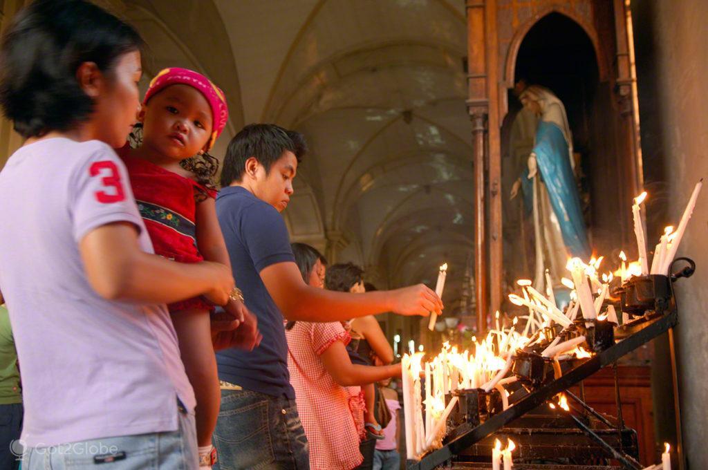 Velas de fé, Vigan, Asia Hispanica, Filipinas
