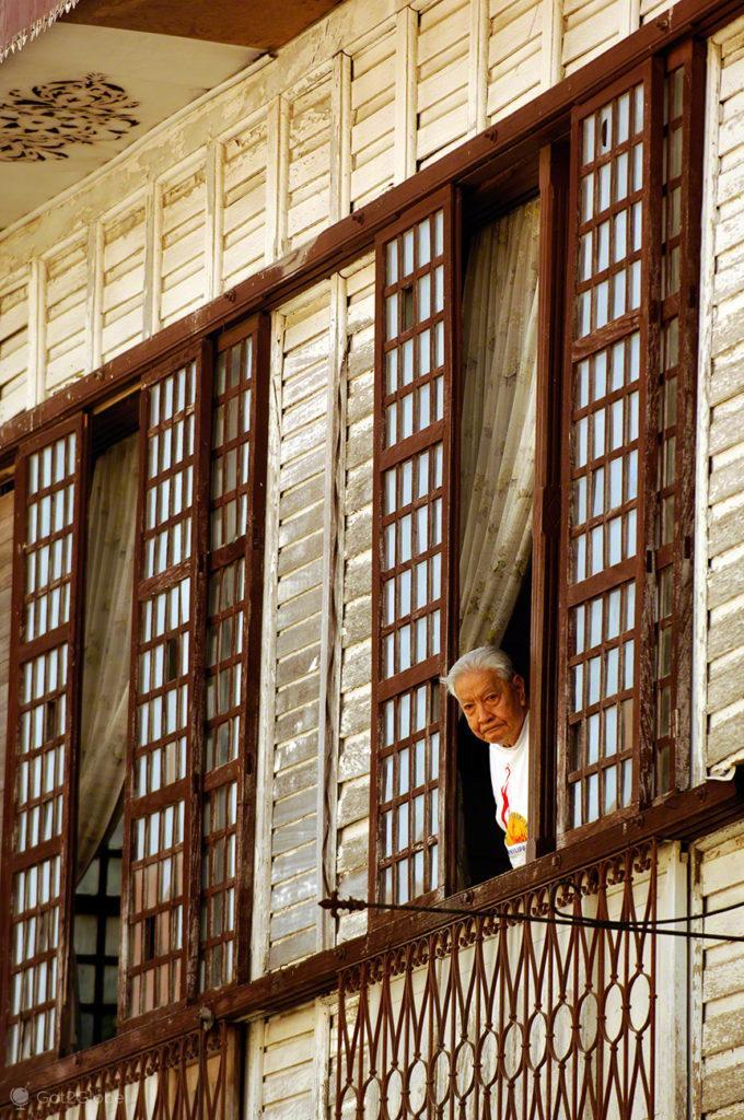 À janela, Vigan, Asia Hispanica, Filipinas