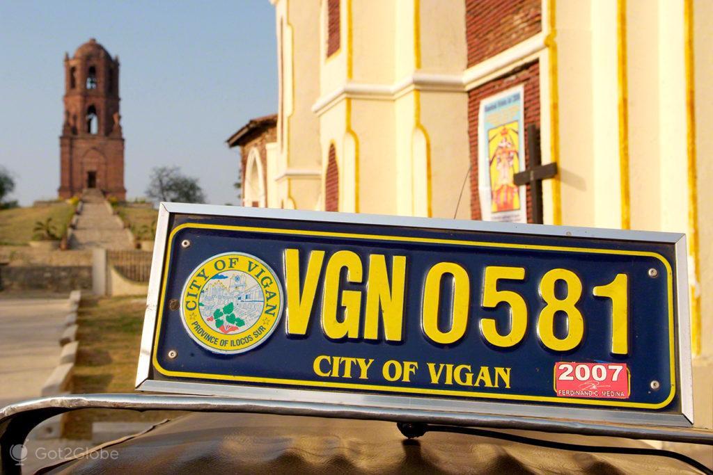 Vigan, Asia Hispanica, Filipinas