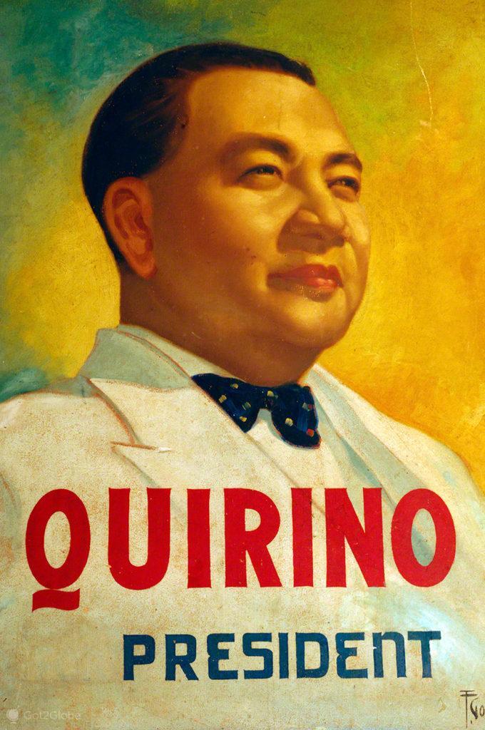 Elpídio Quirino, Vigan, Asia Hispanica, Filipinas