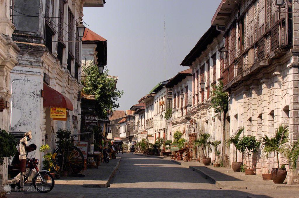 Centro histórico, Vigan, Asia Hispanica, Filipinas
