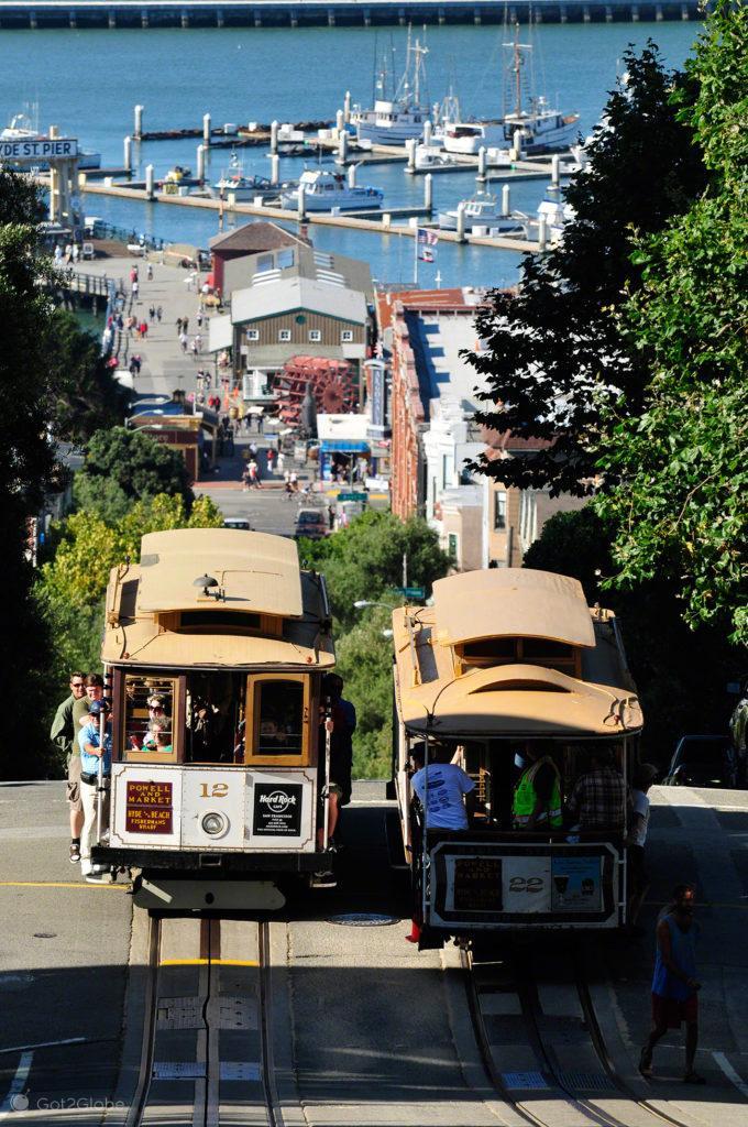 Para cá, para lá, Cable Cars de São Francisco, Vida Altos e baixos