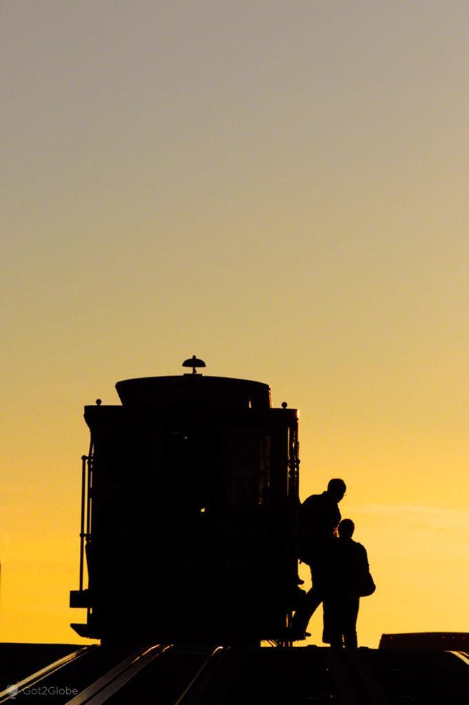 Silhueta, cable cars de São Francisco, Vida Altos e baixos