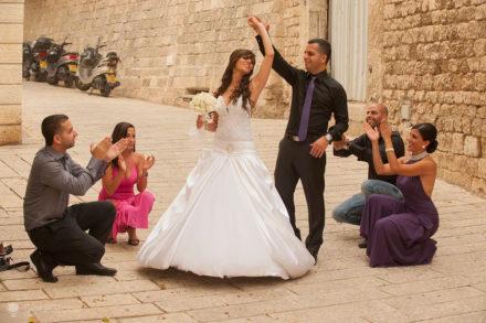 Casamentos em Jaffa, Israel,
