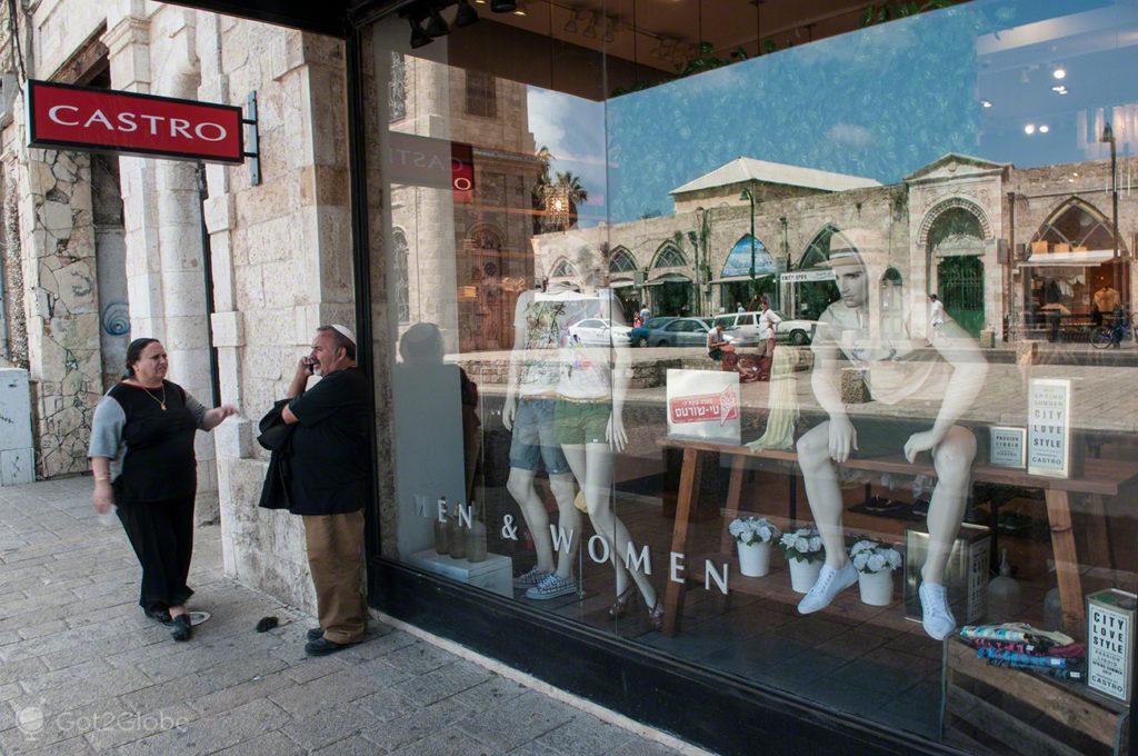 Casamentos em Jaffa, Israel, conversa