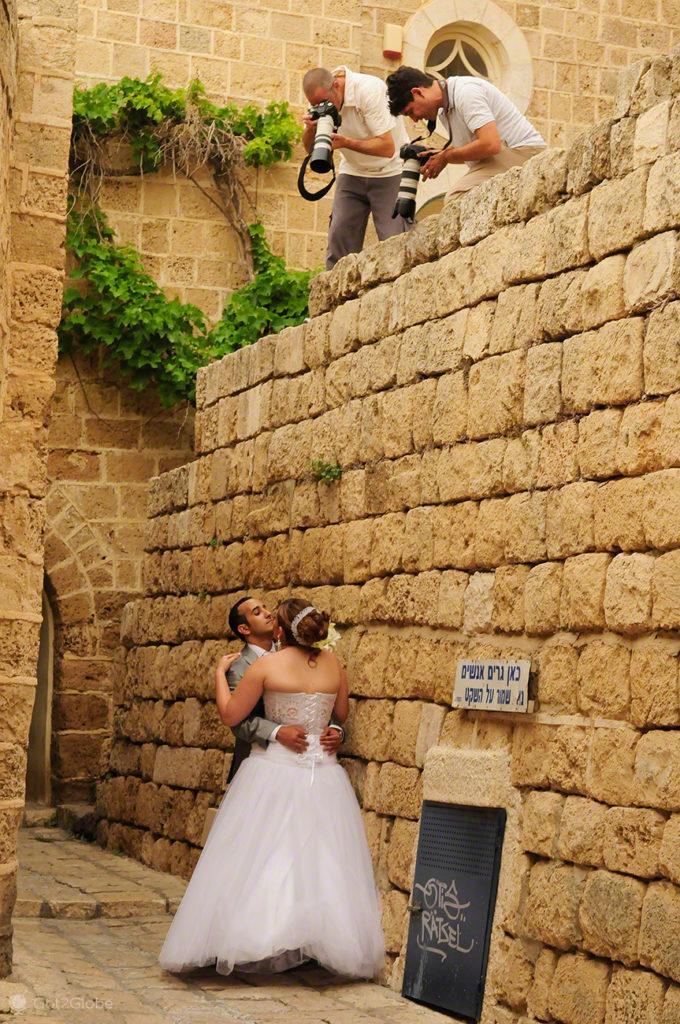 Casamentos em Jaffa, Israel, fotografia dupla