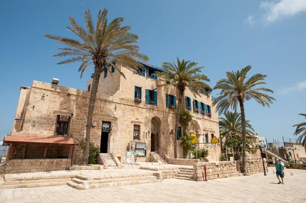 Casamentos em Jaffa, Israel, Hospedaria
