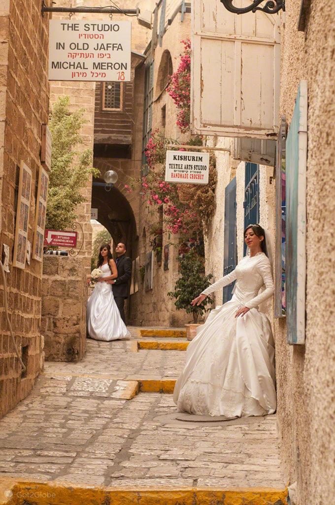 Casamentos em Jaffa, Israel, sessão dupla