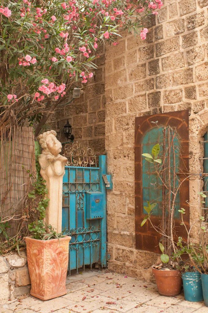 Casamentos em Jaffa, Israel, entrada