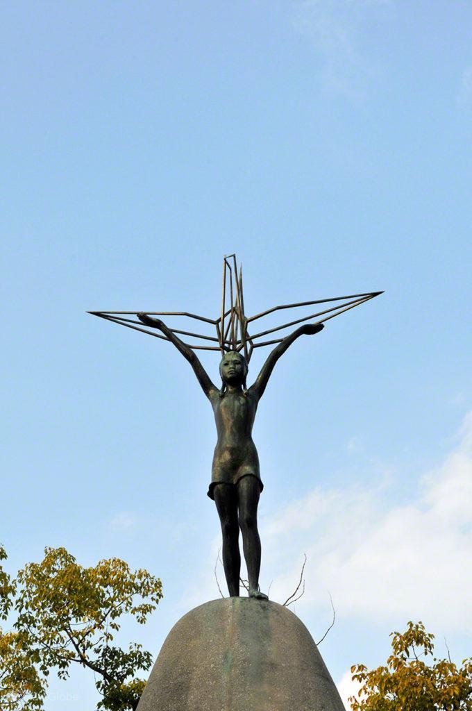 Monumento da Paz das Crianças, Hiroxima, cidade rendida à paz, Japão