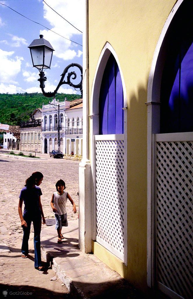 Beco, Lençóis da Bahia, Diamantes Eternos, Brasil
