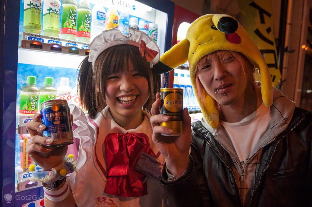 Máquinas Bebidas, Japão
