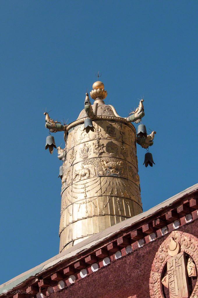 Chaminé, Mosteiro de Sera, Sagrado debate, Tibete