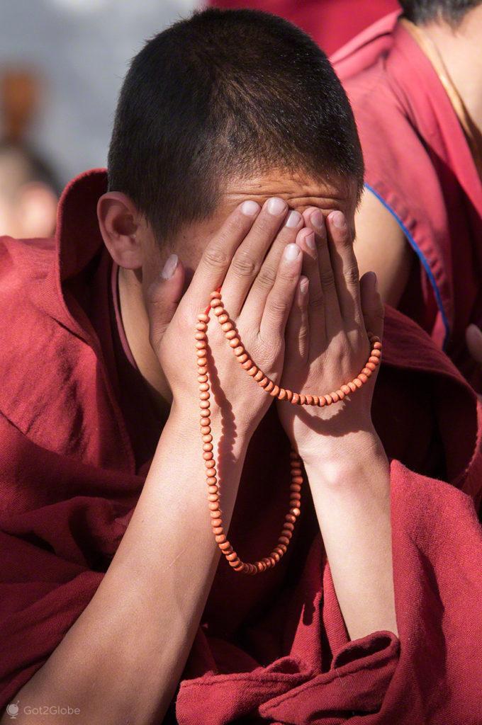 Meditação, Mosteiro de Sera, Sagrado debate, Tibete