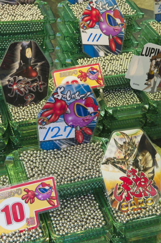 Esferas do Azar, Pachinko, video vício, Japão