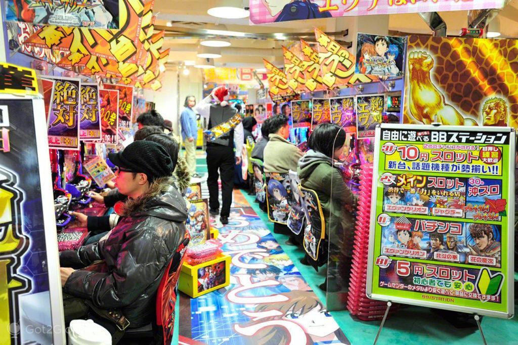 Pachinko, video vício, Japão