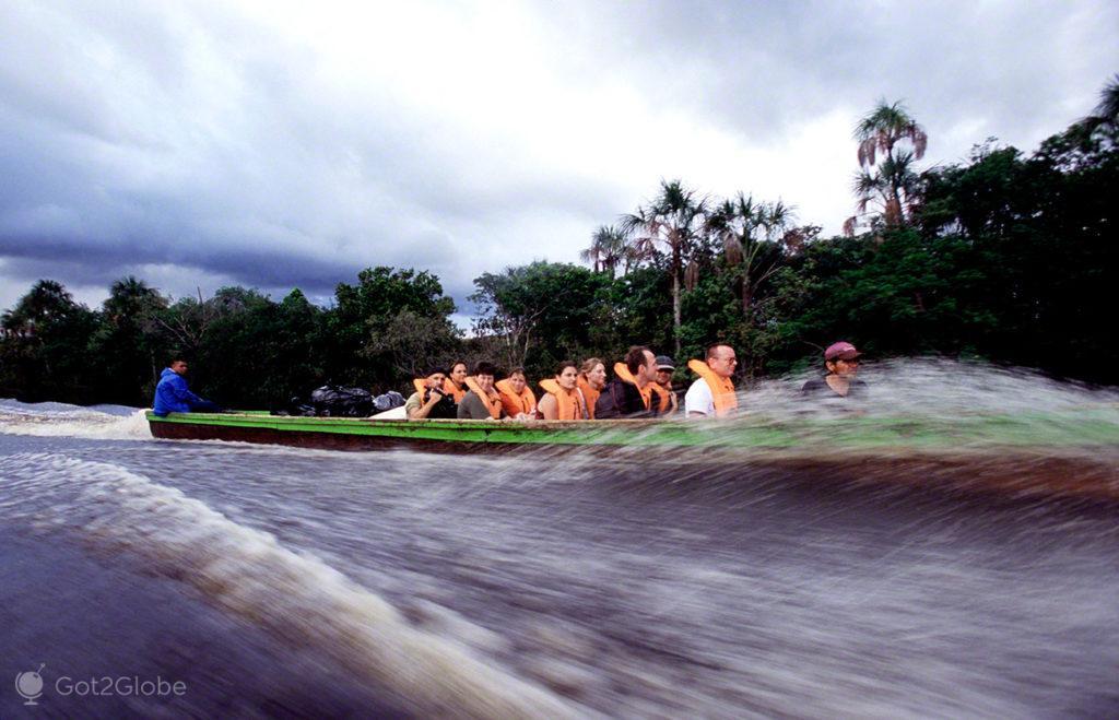 Viagem de Curiara, Salto Angel, Rio que cai do ceu, Angel Falls, PN Canaima, Venezuela