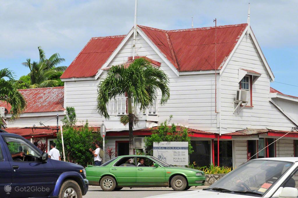Nuku' alofa, capital de Tonga, Última Monarquia da Polinesia