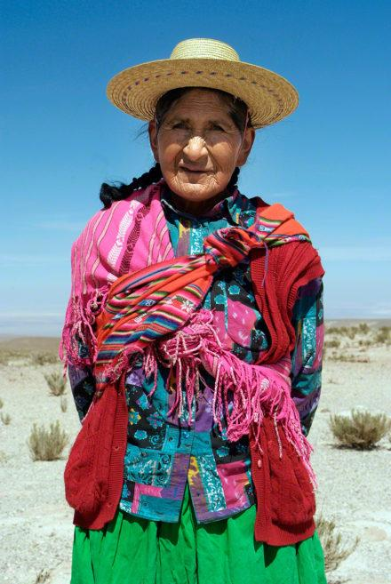 Mulher atacamenha, Vida nos limites, Deserto Atacama, Chile