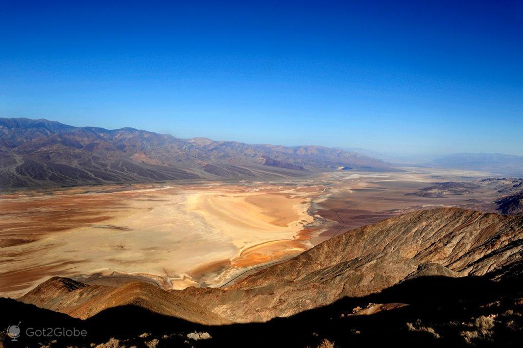 Dante's View, Vale da Morte, Califórnia, Estados Unidos da América