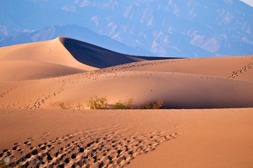 Dunas de Eureka, Vale da Morte, Califórnia, Estados Unidos da América