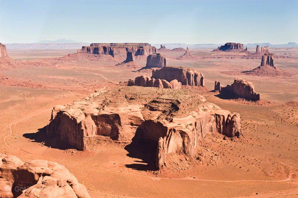 Monument Valley do ar, Nação Navajo, Estados Unidos