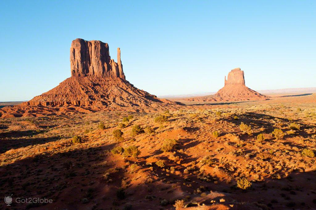 The Mittens, Monument Valley-nacao navajo, Estados Unidos