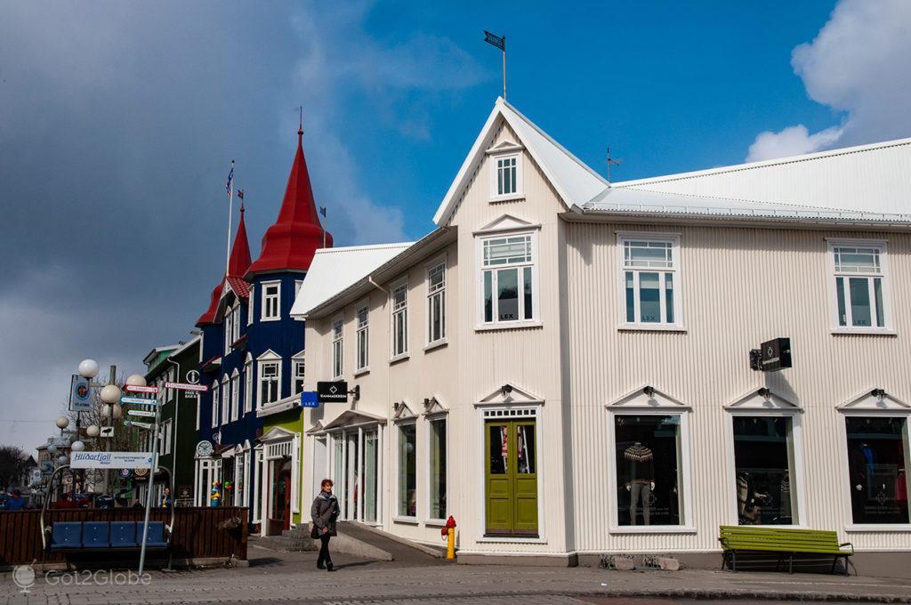 Akureiry, Islândia Neve Sem Fim Ilha Fogo