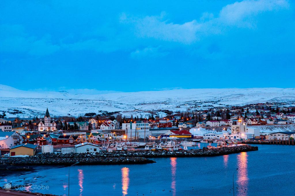Husavik, Islândia Neve Sem Fim Ilha Fogo