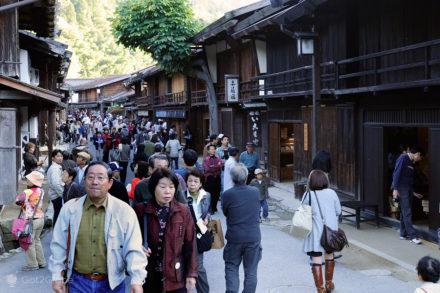 Magome a Tsumago, Nakasendo, Caminho Japão medieval