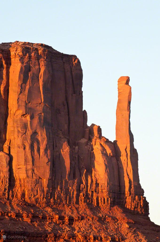 Merrick butte, John Ford Point, Monument Valley-nacao navajo, Estados unidos