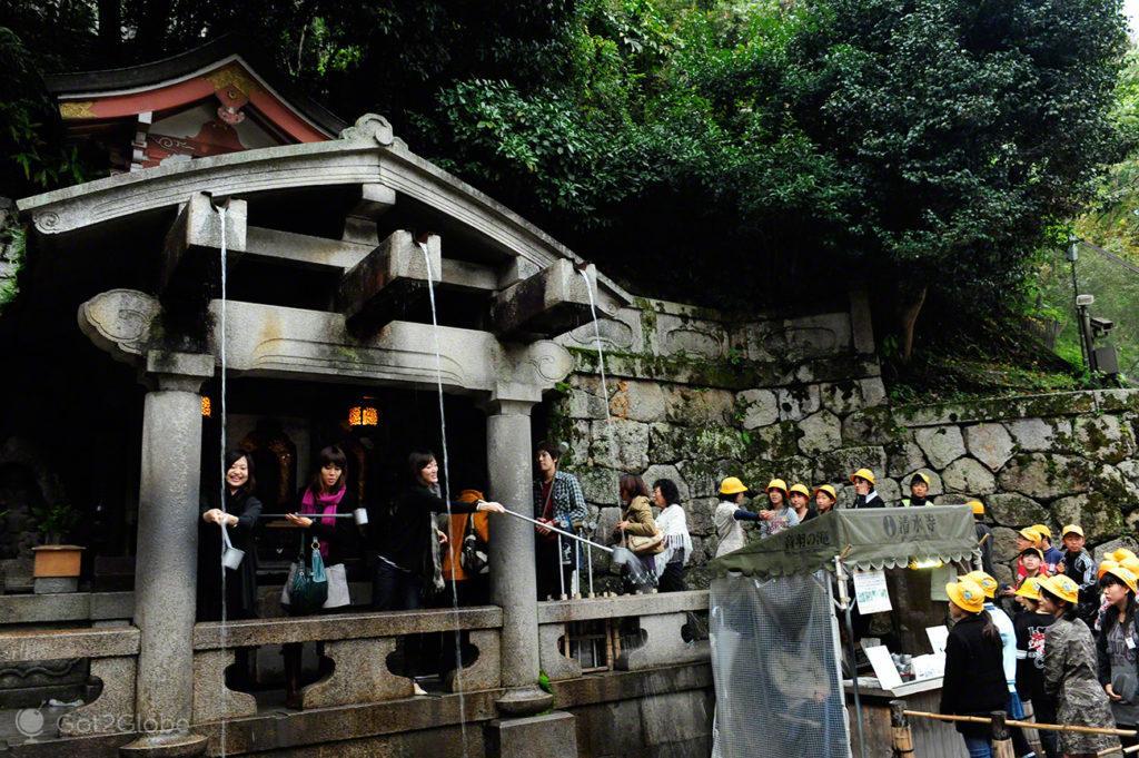 Fonte Kiomizu-dera, Quioto, um Japão Milenar quase perdido