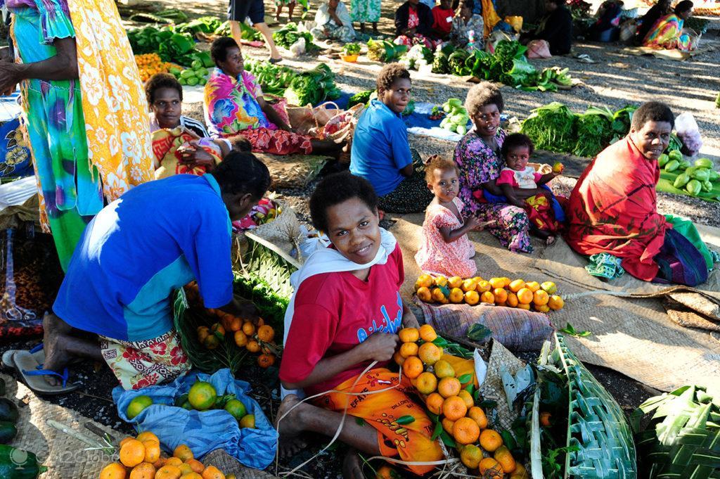 mercado Bethel, Tanna, Vanuatu ao Ocidente, Meet the Natives