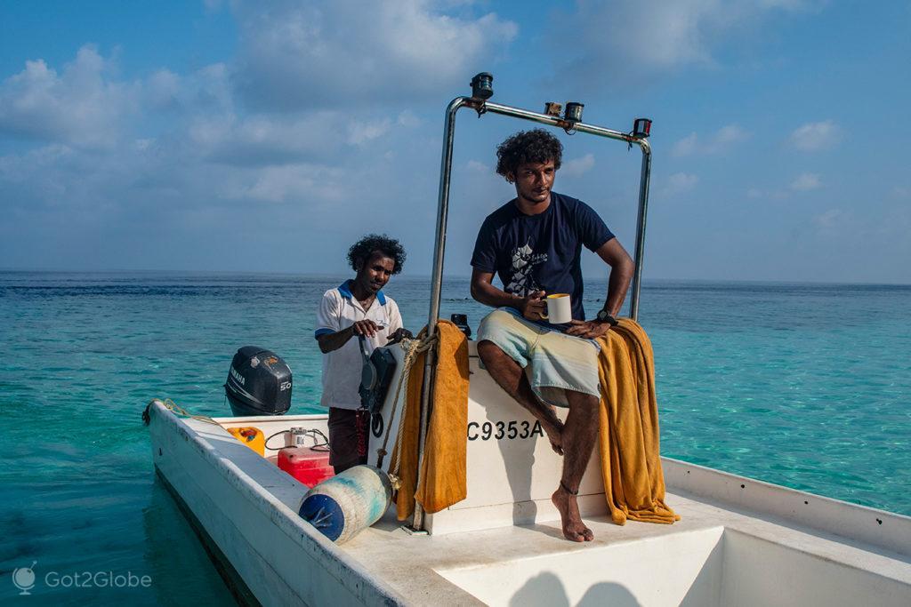 Hora do chá, Cruzeiro Princess Yasawa, Maldivas