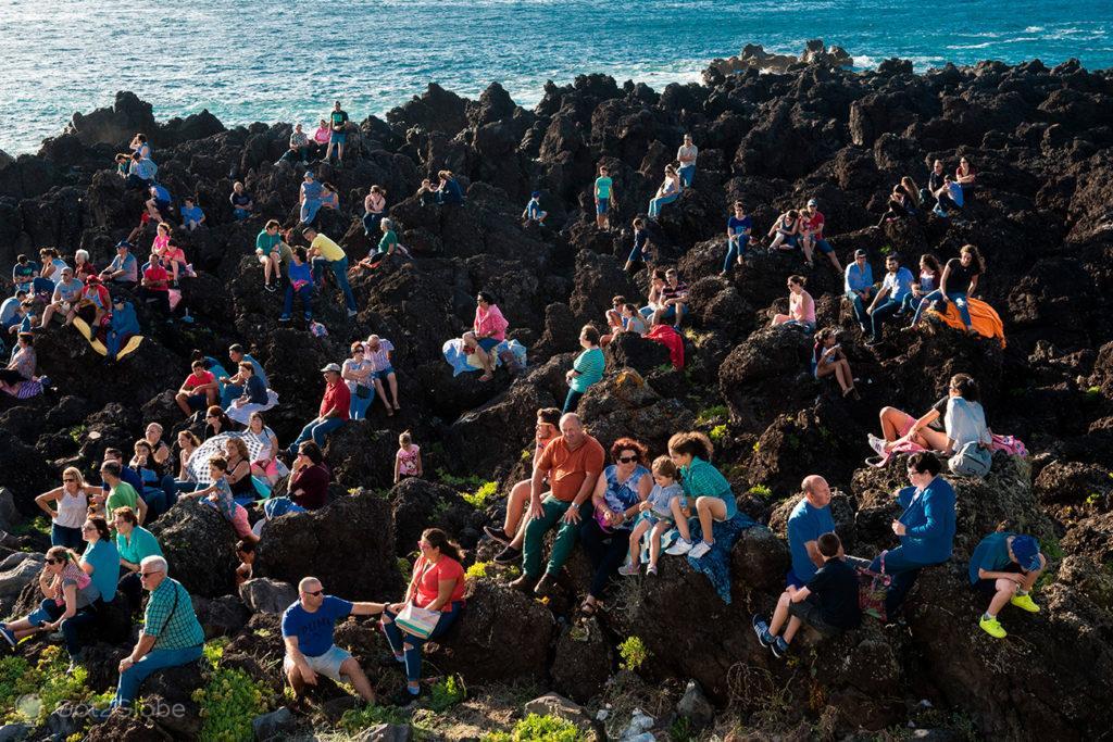 Público em Biscoitos, Açores Ímpares
