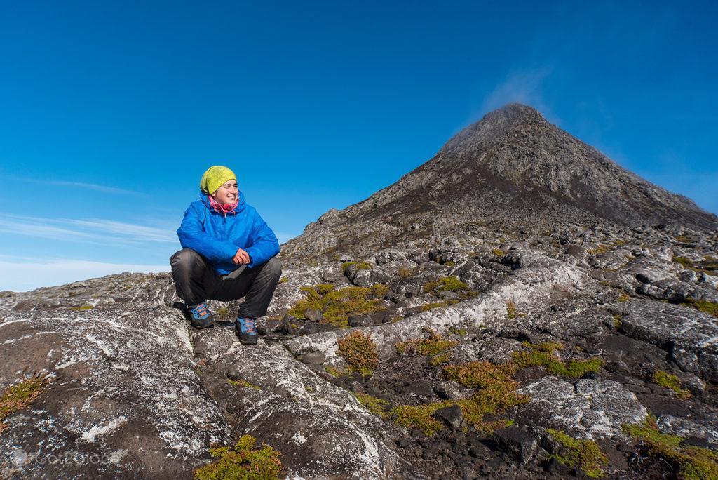 Ilha do Pico, Montanha Vulcão Açores, aos Pés do Atlântico
