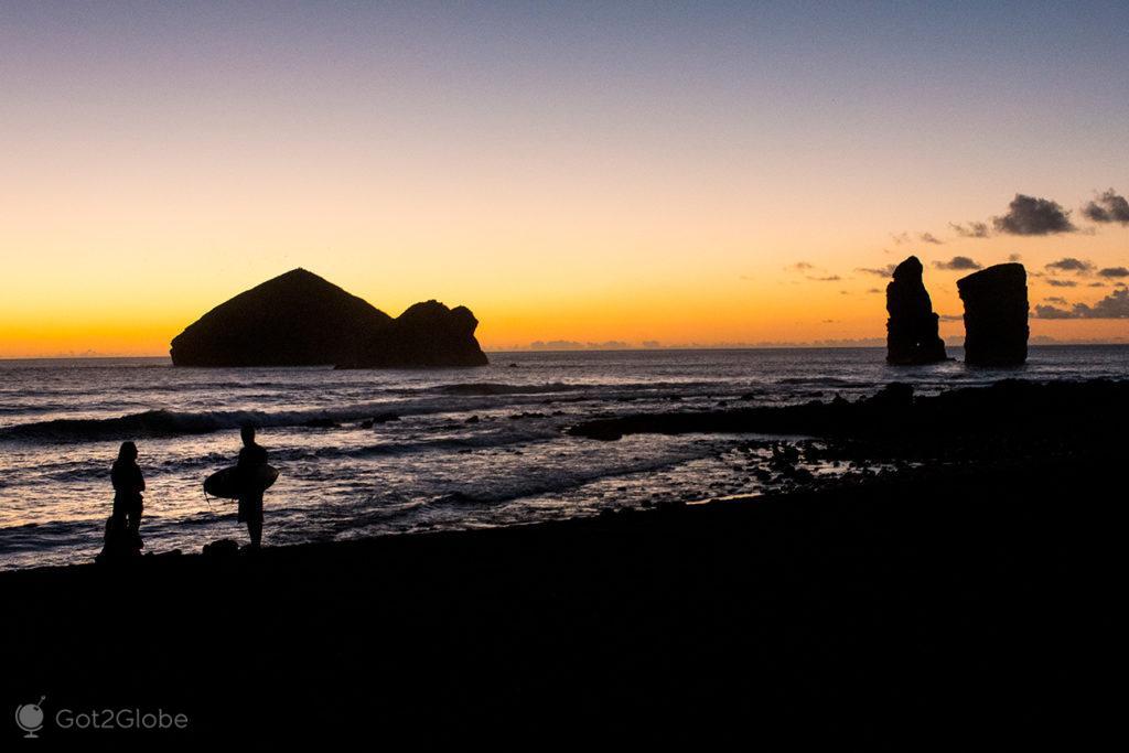 Praia dos Mosteiros, ilha de São Miguel, Acores Deslumbrantes por Natureza