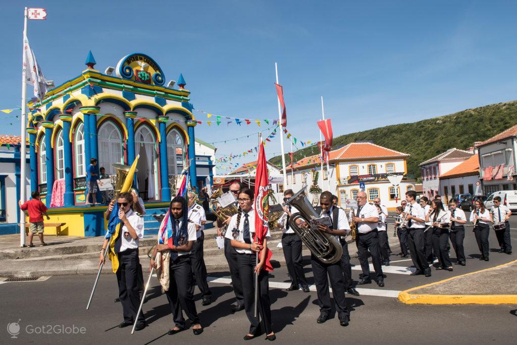 A banda, Ilha Terceira, Açores Ímpares