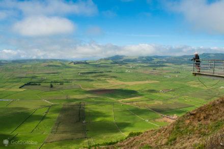 Vista Serra do Cume, Ilha Terceira, Açores Ímpares