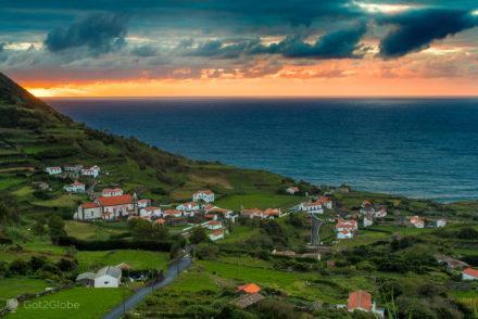 Ocaso, Ilha das Flores, Confins dos Açores e de Portugal