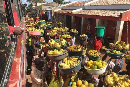 Vendedores de fruta, Enxame, Moçambique