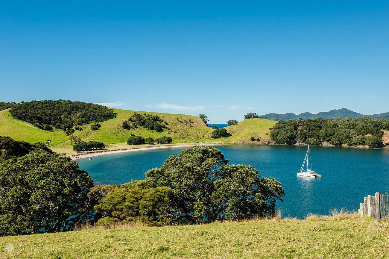 Veleiro, Bay of Islands, Nova Zelândia