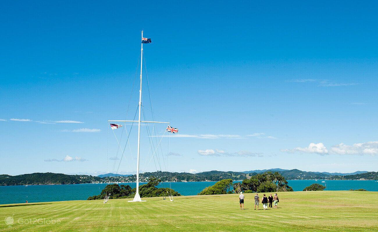 Waitangi Treaty Grounds, Bay of Islands, Nova Zelândia