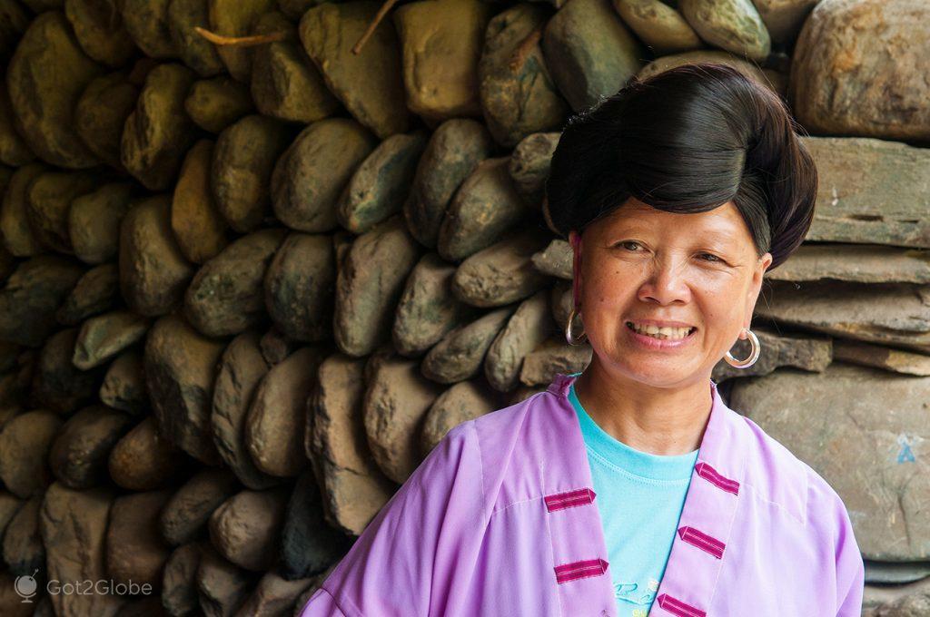 Matriarca de Huang Luo, Guangxi, China